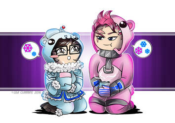 Onesiewatch - Mei + Zarya by BaGgY666