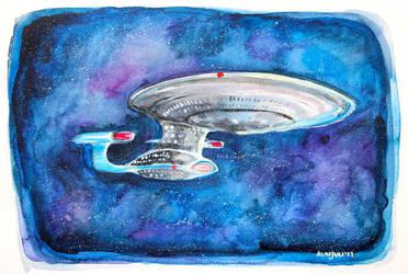 Enterprise by aunjuli