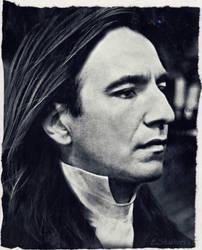 Alan Rickman - Severus Snape by DeolaS