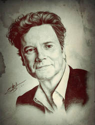Colin Firth by DeolaS