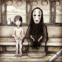 spirited away by yeti-im-ohr