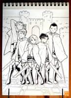 067: Levi's Squad by 365-Hatsu
