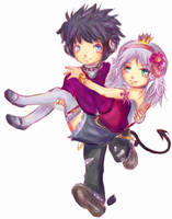 Gaia Auction couple by Fullmetalsasukefreak