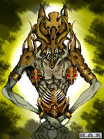 Golden Guardian by RetroAlloyX