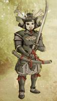 Samurai by RetroAlloyX
