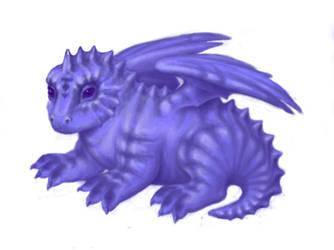 Little dragon by Gravitzappa