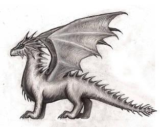 Dragon by Gravitzappa