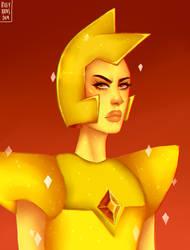 Yellow Diamond [Steven Universe] by rileykuzos