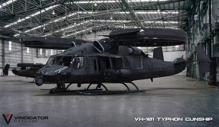 VH-101 Typhon Gunship by VindiCaToR285