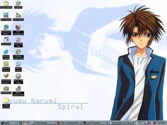 My Current Desktop by renachan