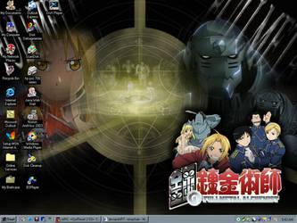 My Desktop - 13th April 2004 by renachan