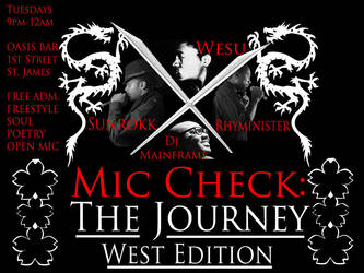 Mic Check: The Journey West by DAV3NY