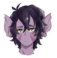 Galra!Keith  by EvilCrayonsOfDoom