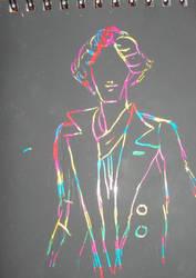 Experiment in Rainbow Sherlock by Winxhelina