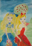 Pretty blondes on a picnic by Winxhelina