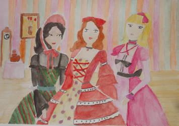 Aristocratic ladies by Winxhelina