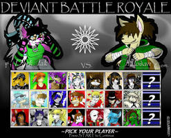 Deviant Battle Royale by dreaminfrost