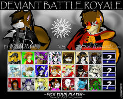 Deviant Battle Royale Round 2 by dreaminfrost
