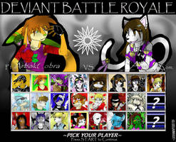 Deviant Battle Royale Round 3 by dreaminfrost