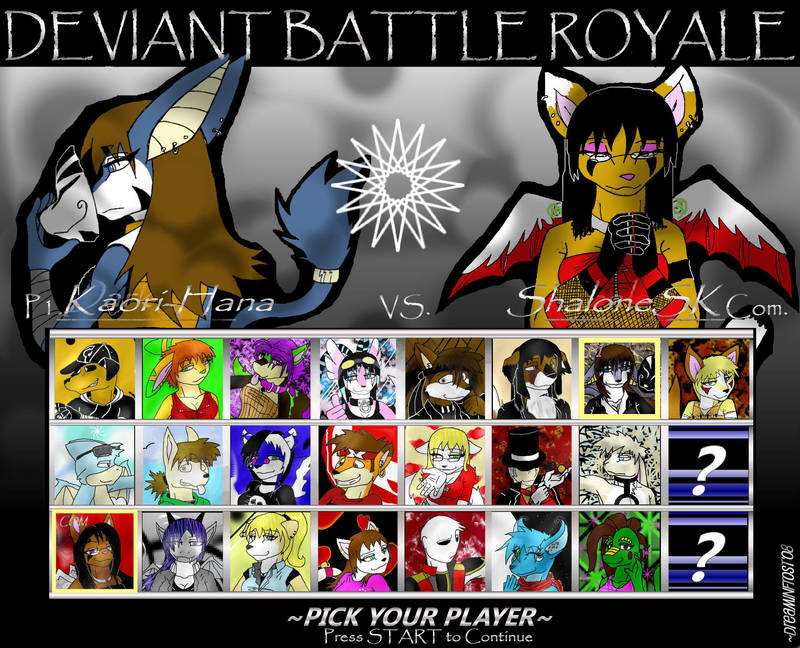 Deviant Battle Royale Round 4 by dreaminfrost
