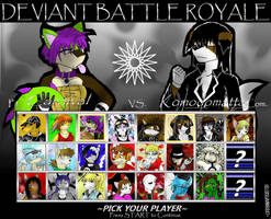 Deviant Battle Royale Round 5 by dreaminfrost