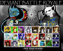 Deviant Battle Royale Round 6 by dreaminfrost