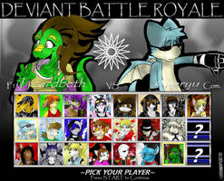 Deviant Battle Royale Round 7 by dreaminfrost