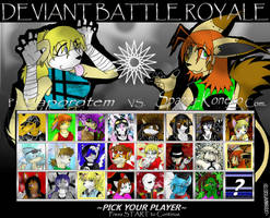 Deviant Battle Royale Round 9 by dreaminfrost