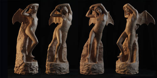 Fury Sculpture by Cissell