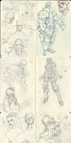 Sketchbook Nonsensticles by justinwongart