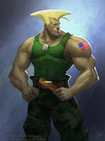Guile by justinwongart