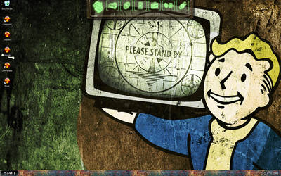Fallout 3 Desktop by Deathbymodding