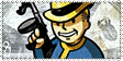Vault Boy Made Man Stamp by Deathbymodding