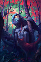 Owl Spirit by MatthewDobrich