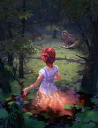 The Path Ahead by MatthewDobrich