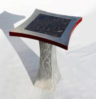 Cadmium Bronze End Table by ImrikDragon