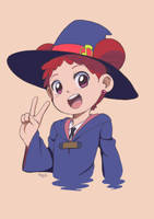 Little Witch Doremi by ArtOfRisu