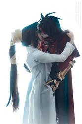 FFVII: Dirge of Cerberus - Lucrecia and Vincent by LadyxZero