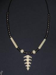 Vertebrae necklace by steelraven