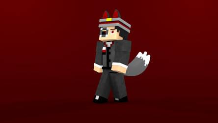 Minecraft OC Character: Leader Stanislav by TheProfessionalBajao