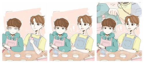 they cook. - yoonjin by mintchocchipz