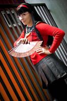 Persona 4 - Yukiko by FujimiyaRan