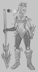Championship Nidalee Skin Concept by Nidaou