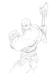 kratos by AtilaBass