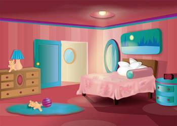 Child's Bedroom by Biklar