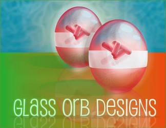 Glass Orbs Designs by Biklar
