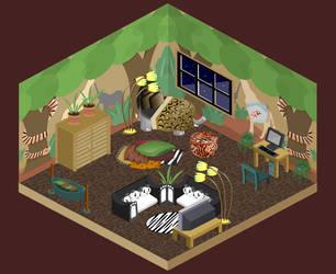 Zoo Animal Themed Room by Biklar