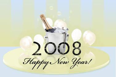 Happy New Year 2008 by Biklar