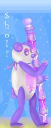 Sholi, The Solitary Candy Bear by Biklar