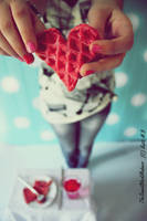 Waffle by TheSweetBlackMadness